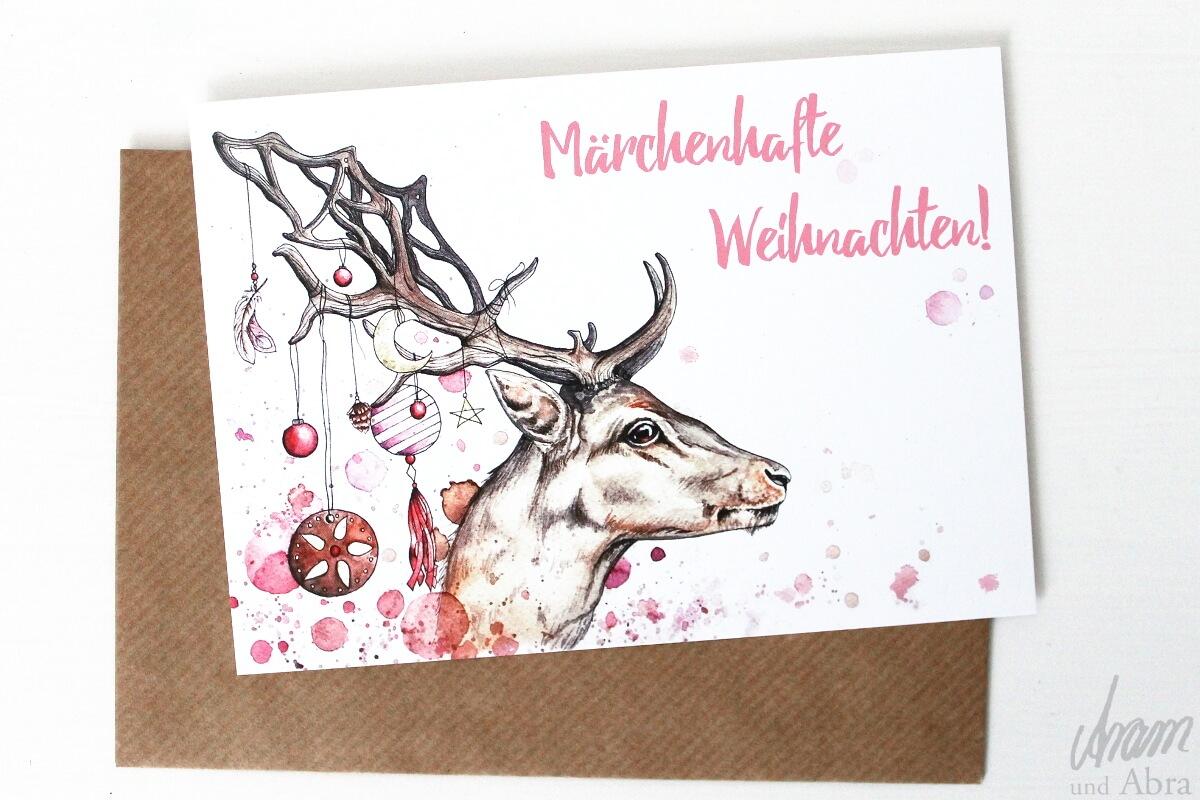postkartenset weihnachten 7er pack weihnachtliche. Black Bedroom Furniture Sets. Home Design Ideas