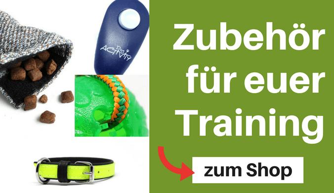 Zubehör für euer Training im Shop von Hundesport Nubi