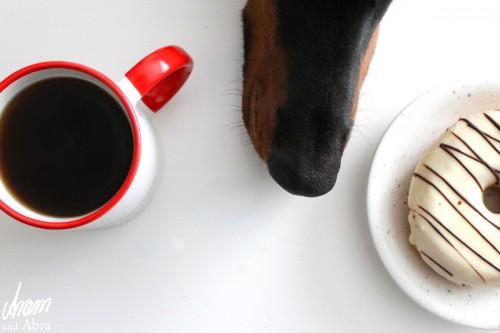 Aram und Abra_Tasse_Hund_Milch Zucker Hundehaare_Tee