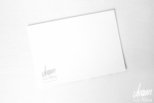Aram und Abra_Postkarte_Rückseite