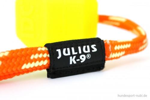 Ball IDC Neon Julius K9, gelb, Logo - Hundespielzeug günstig kaufen