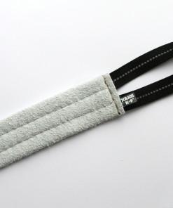 Flache Beißwurst aus Leder mit Griff von Julius K9 - Spielzeug für Hunde günstig online kaufen - Julius K9 - Hundesport Nubi