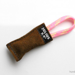 Mini Beißwurst aus Leder mit Griff von Julius K9 - Spielzeug für Hunde günstig online kaufen - Julius K9 - Hundesport Nubi