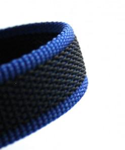 K9 Sportleine gummiert mit Handschlaufe - blau - Leinen günstig online kaufen