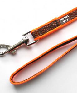 K9 Sportleine gummiert mit Handschlaufe, orange - Leinen günstig online kaufen