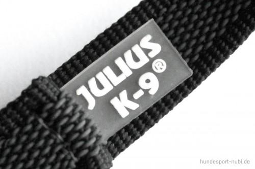 K9 Sportleine gummiert, grau schwarz - Leinen günstig online kaufen