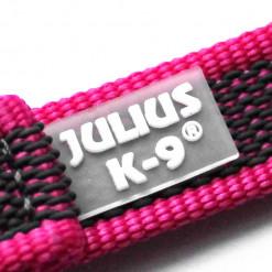 K9 Sportleine gummiert mit Handschlaufe_pink