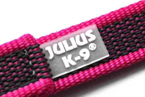 K9 Sportleine gummiert mit Handschlaufe, pink - Leinen günstig online kaufen