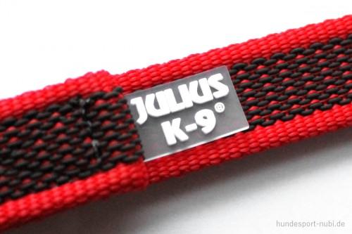 K9 Sportleine gummiert mit Handschlaufe, rot - Leinen günstig online kaufen