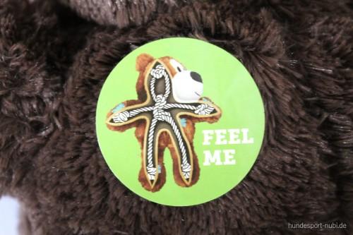 Kong Wild Knots Bär - Detail - Kuscheltiere, Hundespielzeug günstig online kaufen bei Hundesport Nubi