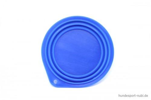 Reisenapf Silikon 0,5 Liter blau