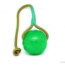 Grüner Swing Chew Ball mit Schnur - Starmark - Hundespielzeug günstig kaufen