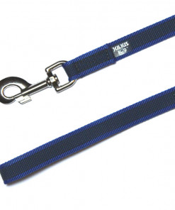 Gummierte Leine - 2 Meter - blau - Julius K9 - Hundesport - Leinen günstig online kaufen