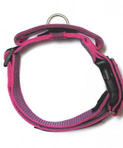 Halsband mit Griff, Hetzhalsband von Julius K9, 49-70cm, pink - günstig online kaufen bei Hundesport Nubi