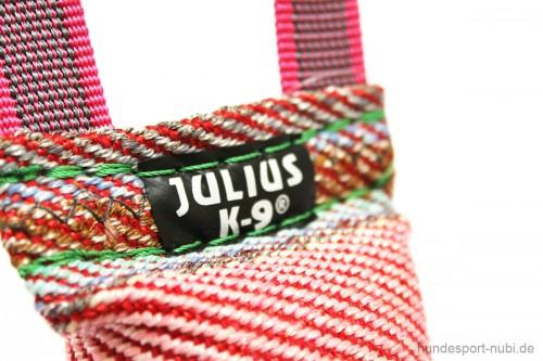 Beißwurst Spielzeug für Hunde Julius K9 Logo - Hundespielzeug günstig online kaufen bei Hundesport Nubi