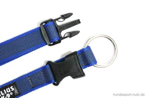 Halsband Julius K9 blau 39 -65 cm Verschluss - günstig online kaufen bei Hundesport Nubi