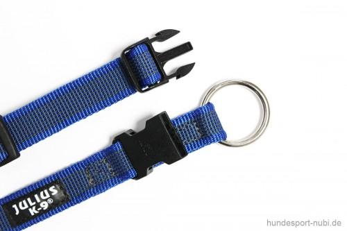 Halsband Julius K9 blau Verschluss 27 - 42 cm - günstig online kaufen bei Hundesport Nubi