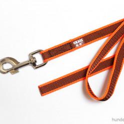 Leine Julius K9 neon orange 2m ohne Schlaufe - Hundesport Nubi - Leinen günstig online kaufen