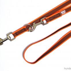 Leine verstellbar Julius K9 neon orange - Hundesport Nubi