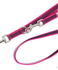Leine verstellbar Julius K9 pink - Hundesport Nubi - Leinen günstig online kaufen