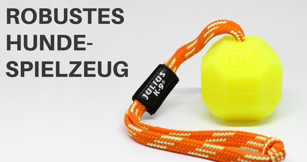Hundespielzeug und Bälle bei Hundesport Nubi - Onlineshop für aktive Hunde
