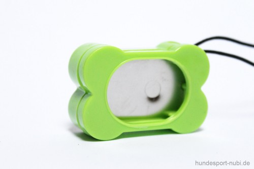 Clicker - positive Verstärkung - Knochen - günstig online bestellen bei Hundesport Nubi