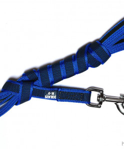 Leine - blau - Julius K9 - 3m - Hundesport Nubi - Leinen günstig online kaufen