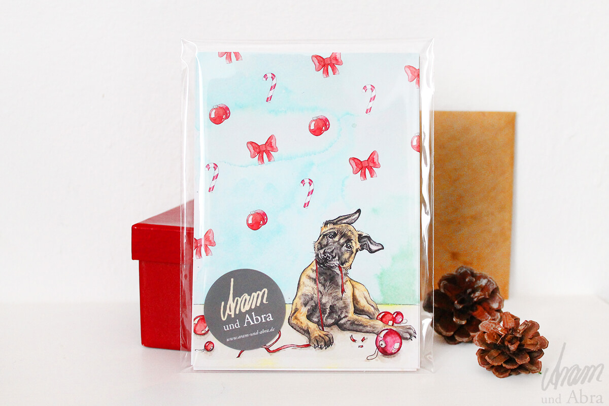 Postkartenset Weihnachten 7er Pack Weihnachtliche Grusskarten