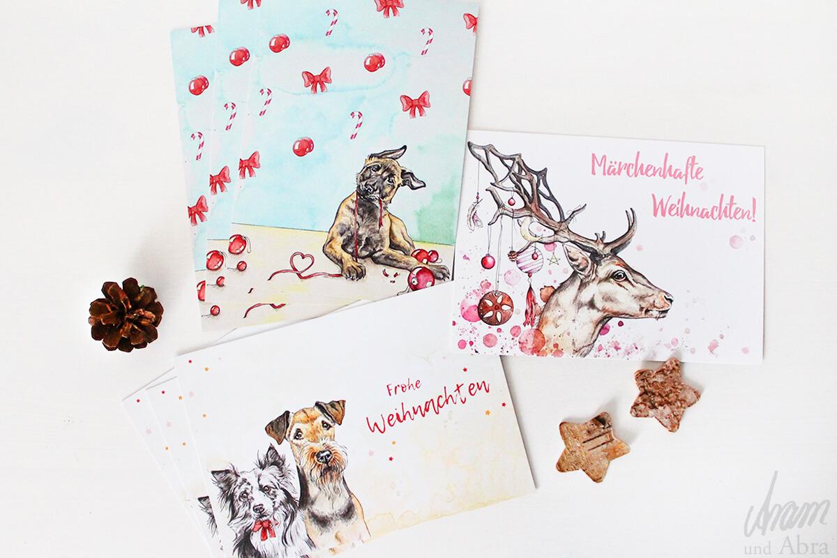 Weihnachtsgrüße Postkarte.Postkartenset Weihnachten 7er Pack Weihnachtliche Grußkarten