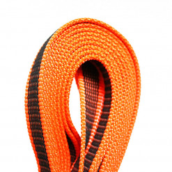 Schleppleine 10 m neon orange - Leine Julius K9 - Detail - Hundesport Nubi - Shop für aktive Hunde
