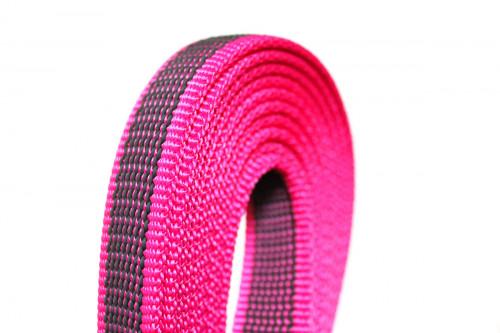 Schleppleine 10 m pink rosa - Leine Julius K9 - Detail - Hundesport Nubi - Shop für aktive Hunde