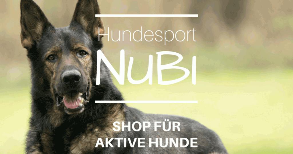 Hundesport Nubi - Leinen, Halsbänder, Hundespielzeug -Shop für aktive Hunde