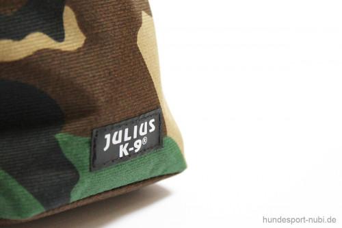 Beutel Futterbeutel Leckerchenbeutel - camouflage - Detail - Julius K9 - Hundezubehör günstig online kaufen bei Hundesport Nubi