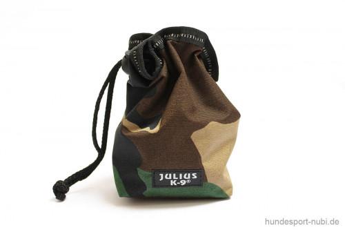 Beutel Futterbeutel Leckerchenbeutel - camouflage - Gürteltasche - Julius K9 - Hundezubehör günstig online kaufen bei Hundesport Nubi