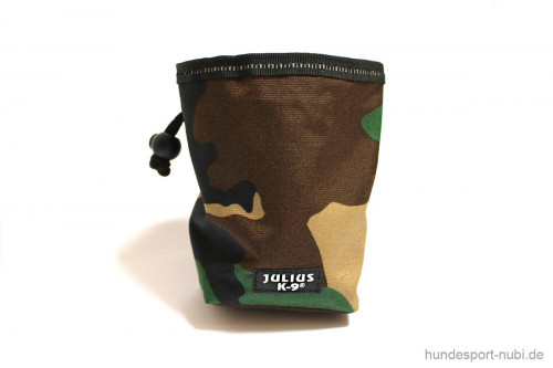 Beutel Futterbeutel Leckerchenbeutel - camouflage - Verschluss - Julius K9 - Hundezubehör günstig online kaufen bei Hundesport Nubi