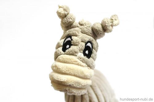 Plüschtier Esel Hunter - Spielzeug für Hunde - Detail - Hundesport Nubi