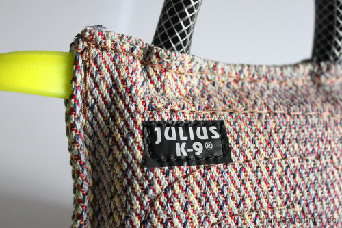 Beißkissen Julius K9 mit drei Griffen - Nylon Baumwolle - Detail - IGP IPO - Hundesport Nubi