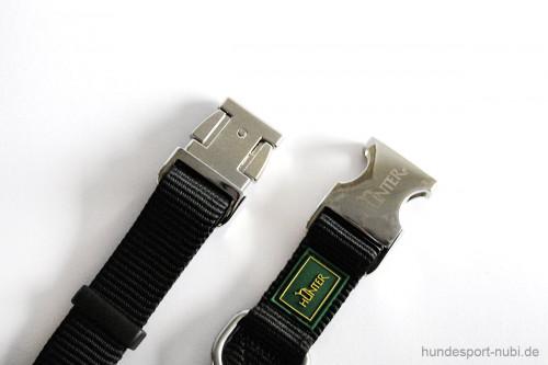 Halsband Hunter Vario Basic Alu-Strong - Verschluss aus Metall - Hundesport Nubi