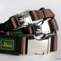 Halsband Hunter Vario Basic Alu-Strong - braun - Hundesport Nubi