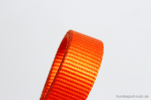 Halsband Hunter Vario Basic Alu-Strong - orange - Material - Hundesport Nubi