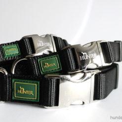 Halsband Hunter Vario Basic Alu-Strong - schwarz - Hundesport Nubi