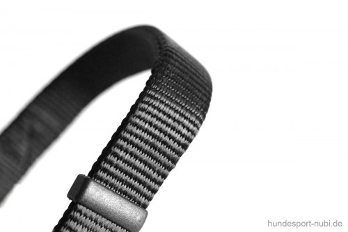 Halsband Hunter Vario Basic Alu-Strong - schwarz - Material - Hundesport Nubi