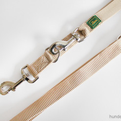 Leine Hunter - verstellbare Führleine - Leinen günstig online kaufen - beige - Hundesport Nubi