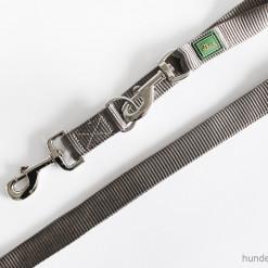 Leine Hunter - verstellbare Führleine - Leinen günstig online kaufen - grau - Hundesport Nubi