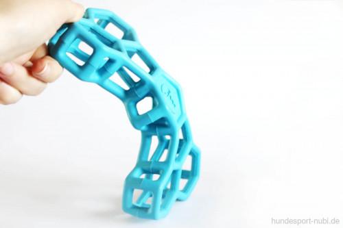 Hundespielzeug Knochen - Logo JW Pet Hol-EE Bone - biegsam - Gitter aus Naturkautschuk, Gummi - günstig online kaufen bei Hundesport Nubi