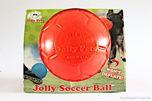 Jolly Soccer Ball - Verpackung - Hundespielzeug günstig online kaufen bei Hundesport Nubi