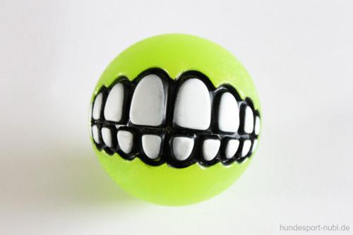 Rogz Grinz Ball mit Zähnen - Hundespielzeug günstig online kaufen bei Hundesport Nubi