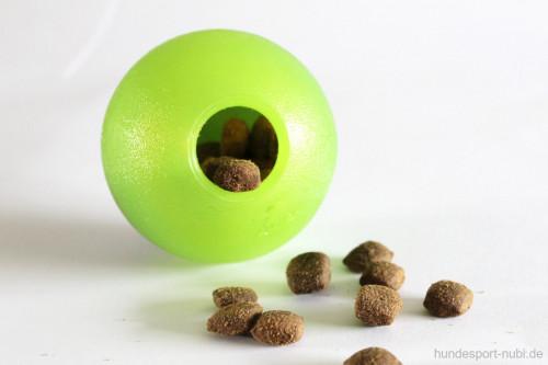 Rogz Grinz Ball mit Zähnen - befüllbar - Hundespielzeug günstig online kaufen bei Hundesport Nubi
