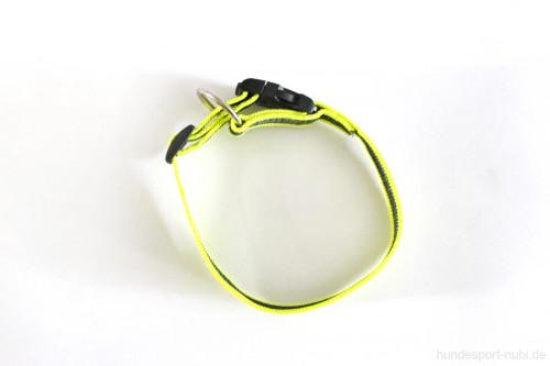 Halsband neon gelb - Signalfarbe - Julius K9 - 27 - 42 Halsumfang - günstig online bestellen bei Hundesport Nubi