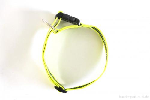 Halsband neon gelb - Signalfarbe - Julius K9 - 39 - 65 Halsumfang - günstig online bestellen bei Hundesport Nubi
